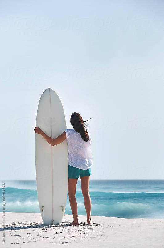surfer girl by Daxiao Productions for Stocksy United