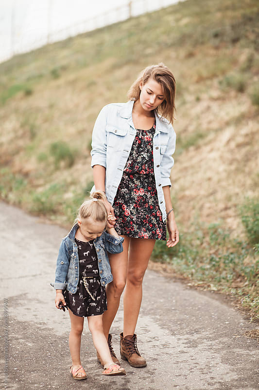 Like mother like daugher by Irina Efremova for Stocksy United
