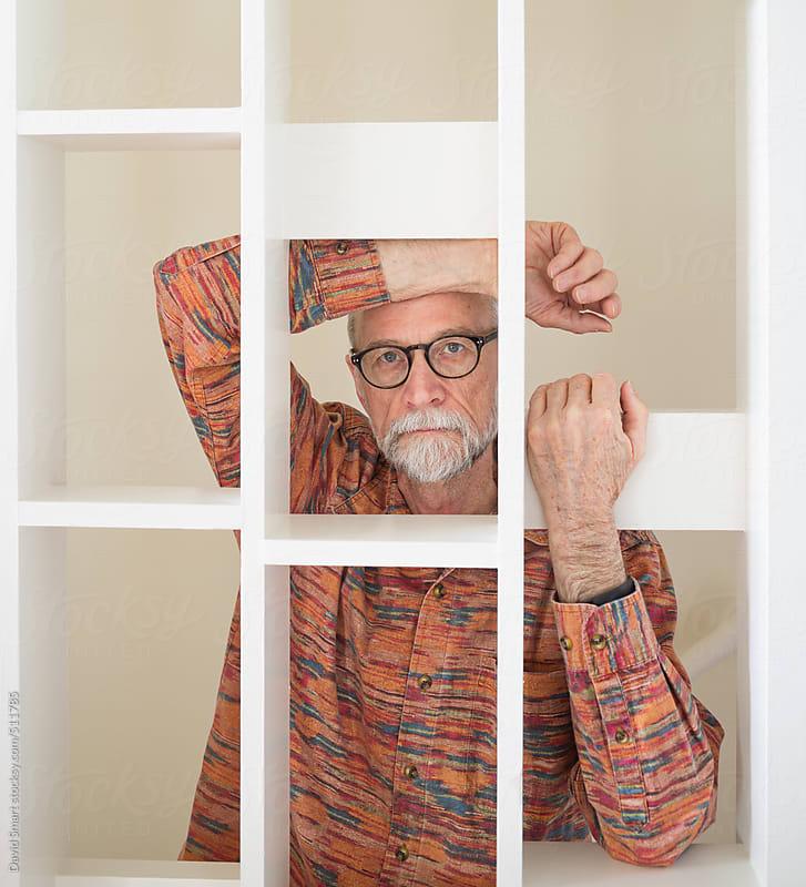 Portrait of 60-plus caucasian man by David Smart for Stocksy United