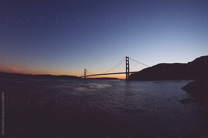 Golden Gate Bridge by Chris Martin for Stocksy United
