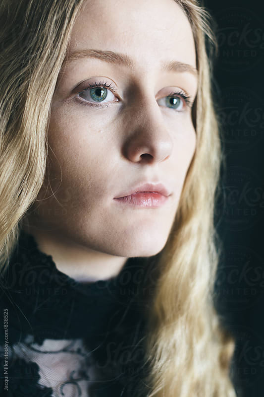 Portrait of Teenage Girl in Natural Light by Jacqui Miller for Stocksy United