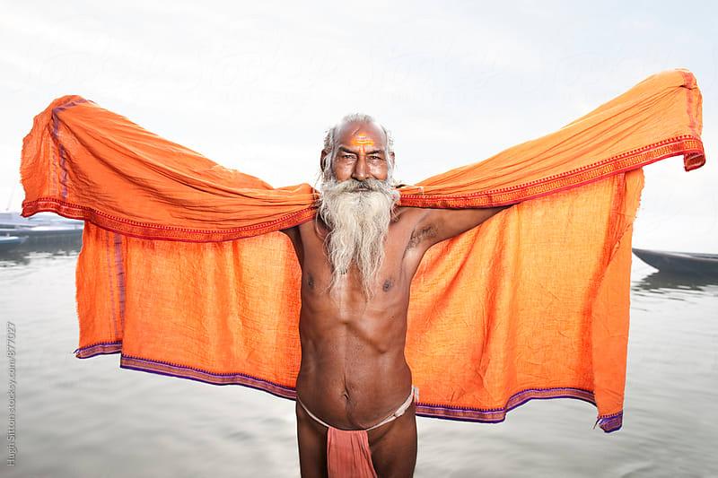 Sadhu. Varanasi. India by Hugh Sitton for Stocksy United