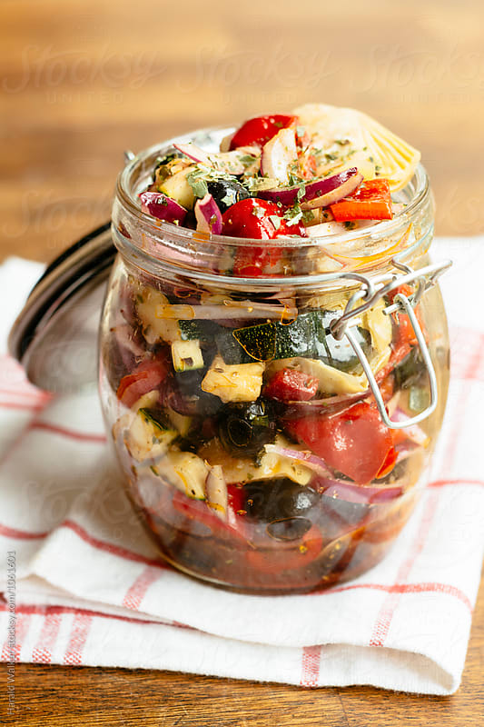 Marinated Summer Veggies by Harald Walker for Stocksy United