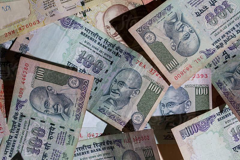 indian currency by Shikhar Bhattarai for Stocksy United