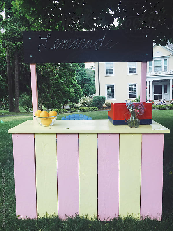 A lemonade stand by Chelsea Victoria for Stocksy United