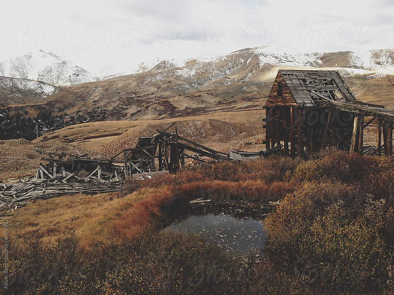 Old Rocky Mountain Mining District by Kevin Russ for Stocksy United