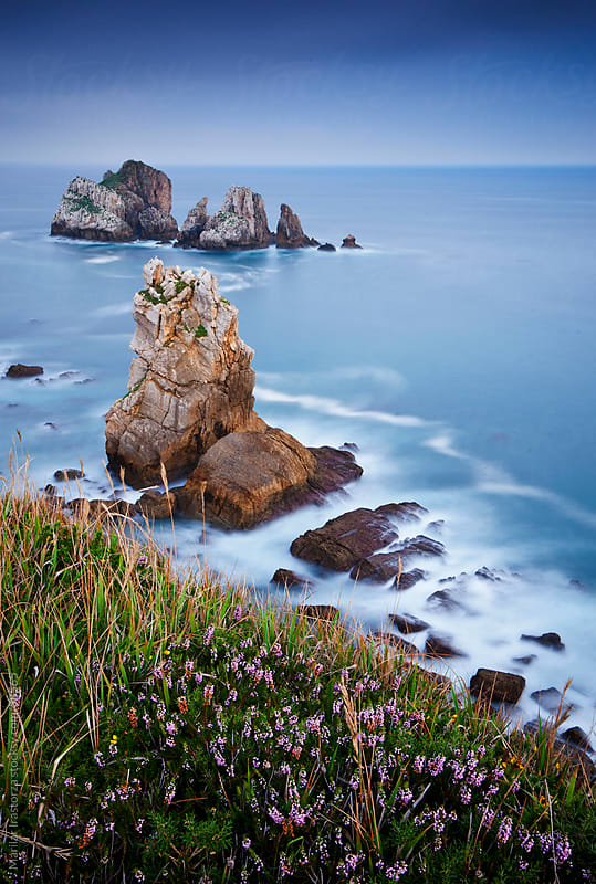 View of the coast of Cantabria in northern Spain by Marilar Irastorza for Stocksy United