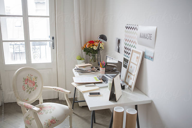 Workspace at Home by Lumina for Stocksy United