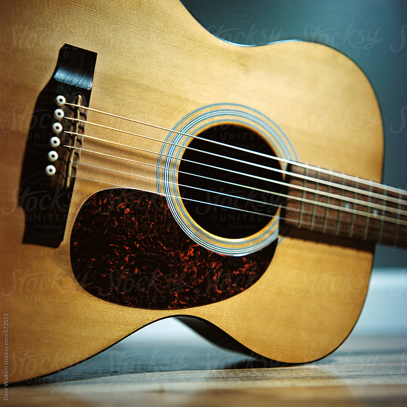 Acoustic Guitar Close up by Dave Waddell for Stocksy United