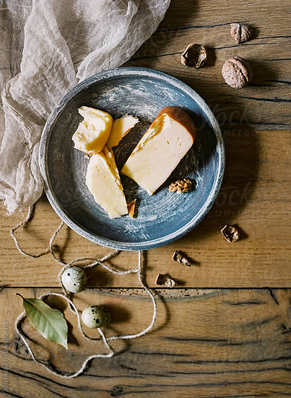 Cheese still life by Julia K for Stocksy United