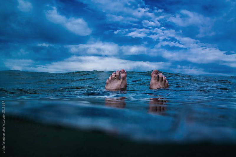 My Floating Feet by craig ferguson for Stocksy United