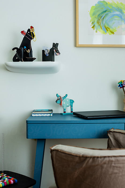 Detail of child's bedroom by Aleksandar Novoselski for Stocksy United
