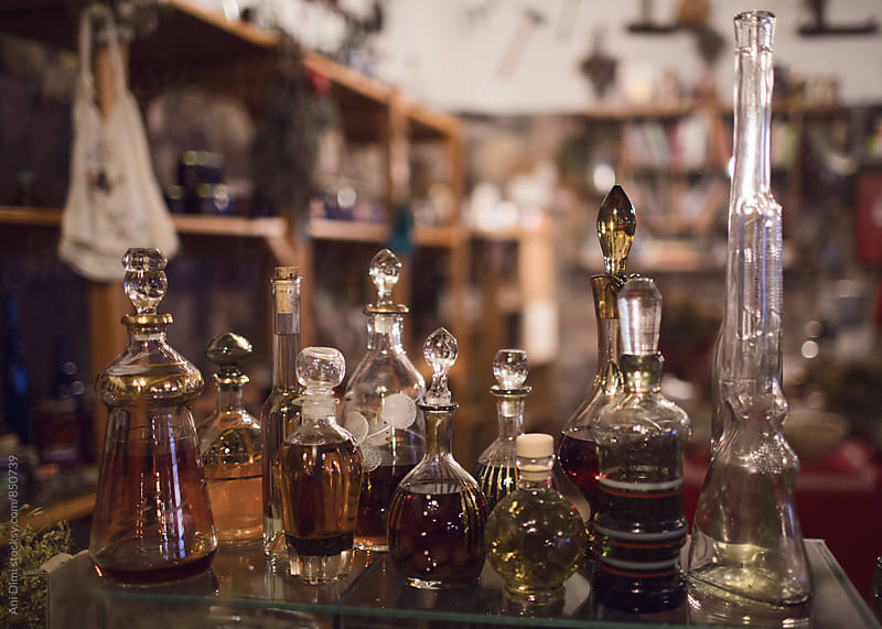 Vintage Glass Bottles by Ani Dimi for Stocksy United