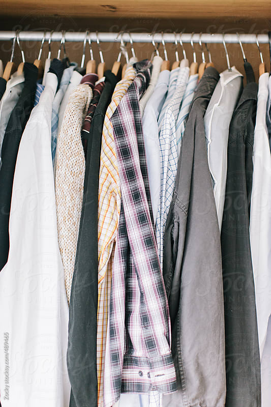 Clothes On a Rack by Zocky for Stocksy United