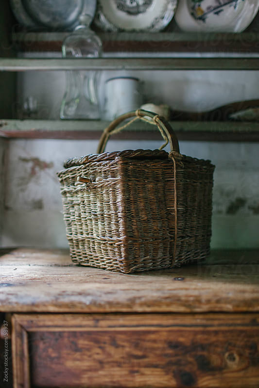 Wicker basket by Zocky for Stocksy United