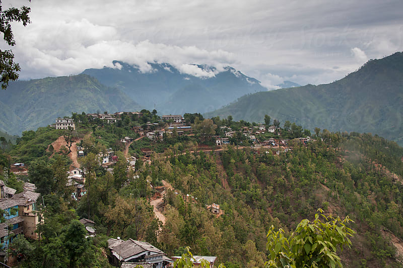 Village of Jajarkot in Nepal. by Shikhar Bhattarai for Stocksy United