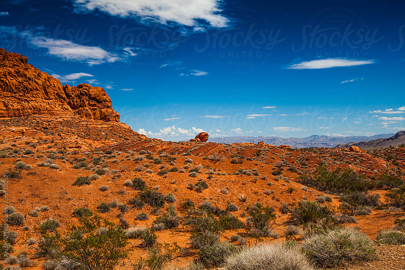Valley of Fire, Nevada landscape by ALAN SHAPIRO for Stocksy United