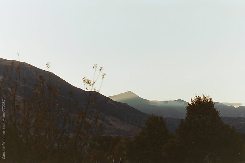 Sunrise over the Wasatch Mountains by Cameron Whitman for Stocksy United