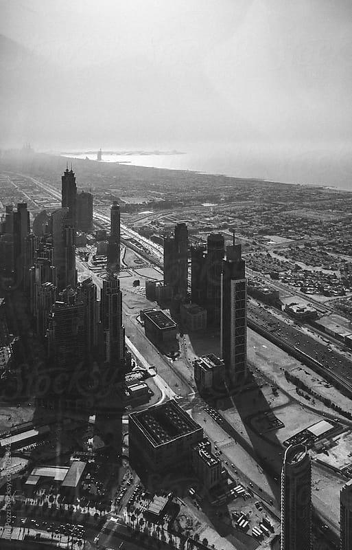 Dubai downtown view by Juri Pozzi for Stocksy United