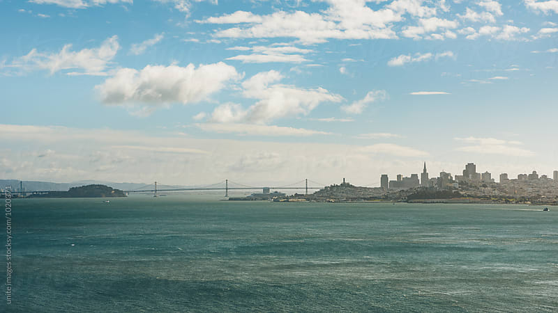 aerial view of san francisco by unite images for Stocksy United