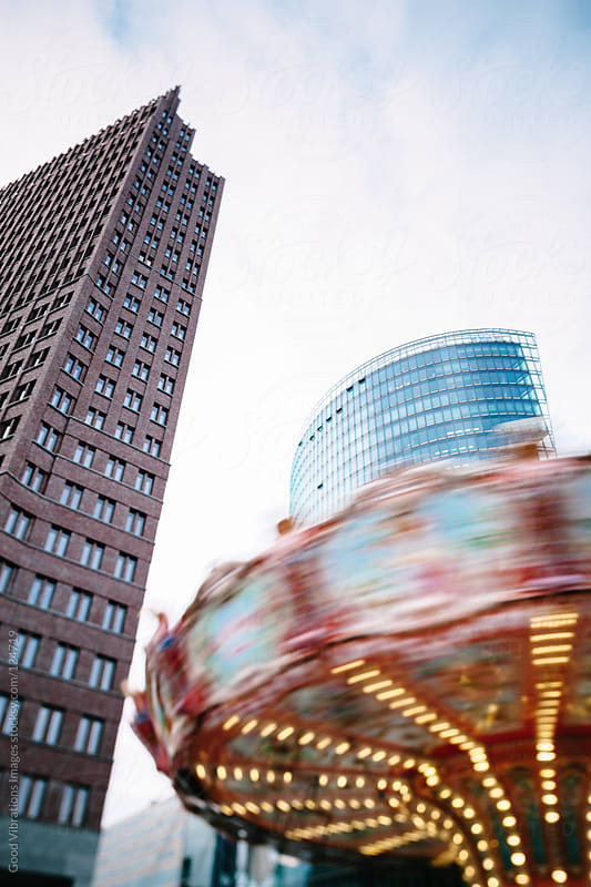 Carousel in Berlin by Good Vibrations Images for Stocksy United