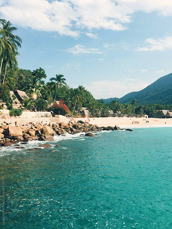 The Bay in Yelapa, Mexico by Jared Harrell for Stocksy United