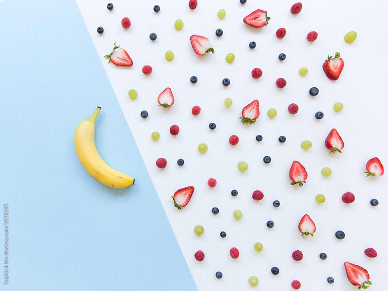 Berries Neatly Organized by Sophia Hsin for Stocksy United