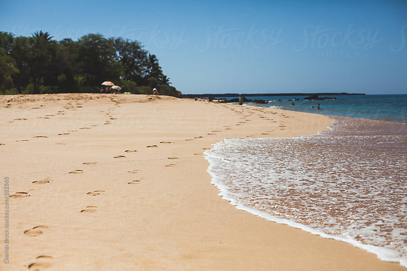 An empty beach. by Cherish Bryck for Stocksy United