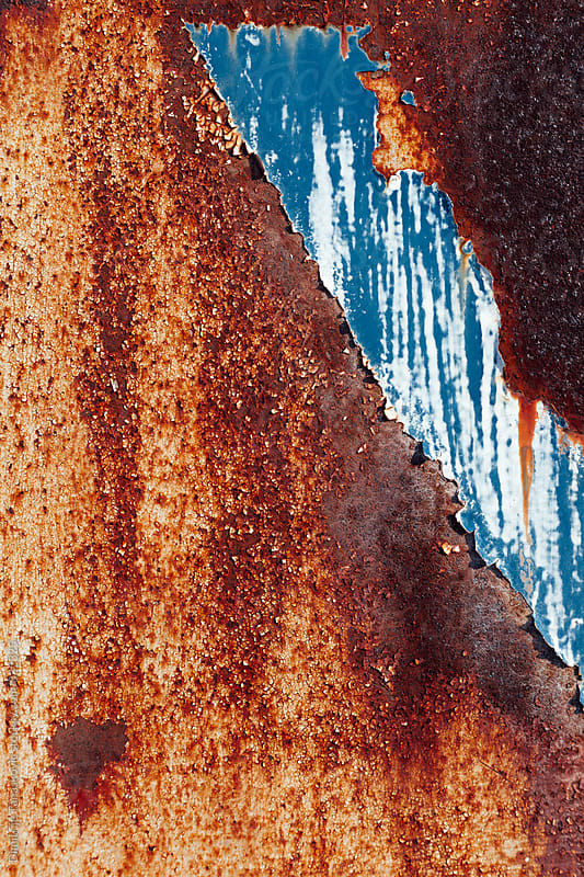 Rusty metal background by Dimitrije Tanaskovic for Stocksy United