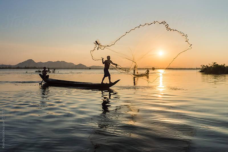 Fishing by Kien Bo for Stocksy United