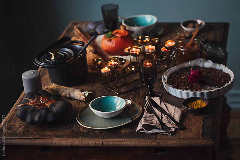 Halloween Dinner by Lumina for Stocksy United