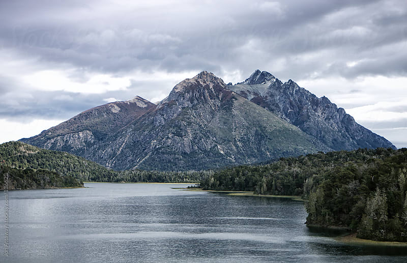 Bariloche mountain by Jon Attaway for Stocksy United
