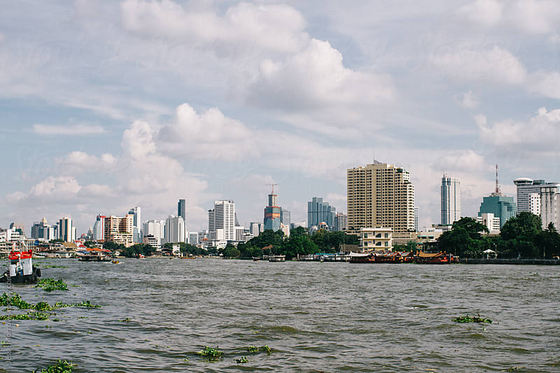 Bangkok city skyline by Jesse Morrow for Stocksy United