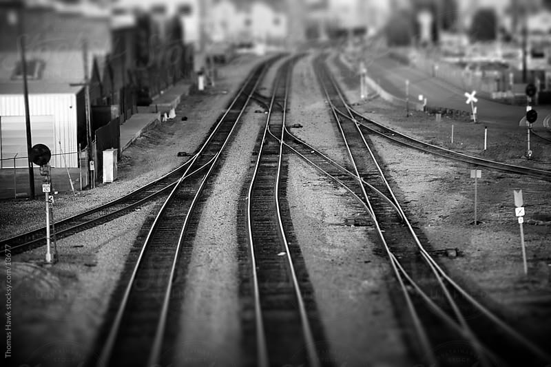 Train Tracks, Oakland, CA by Thomas Hawk for Stocksy United