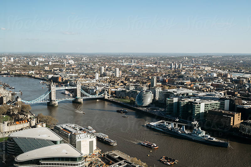 Tower Bridge by Agencia for Stocksy United