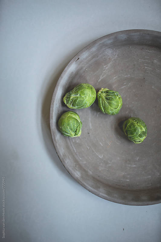 Brussels sprouts by Sophia van den Hoek for Stocksy United