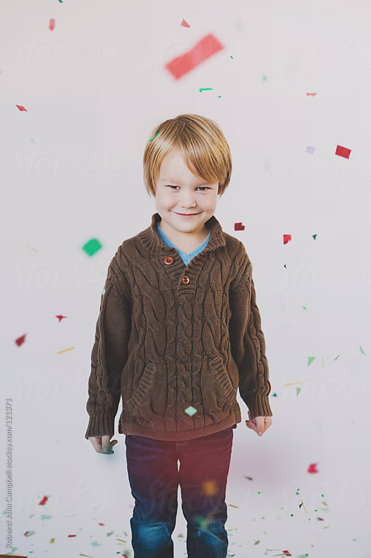 Holiday cheer and amazement by Rob and Julia Campbell for Stocksy United