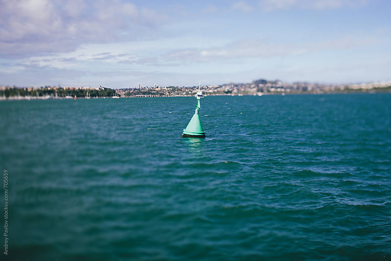 Buoy in the sea by Andrey Pavlov for Stocksy United