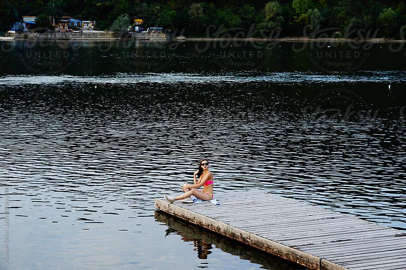 Lakeside shoot by Atakan-Erkut Uzun for Stocksy United