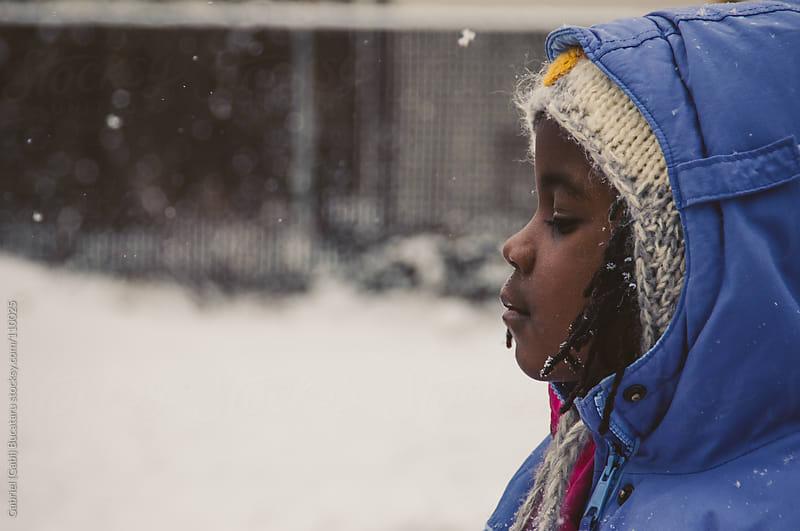 enjoying the snow by Gabriel (Gabi) Bucataru for Stocksy United
