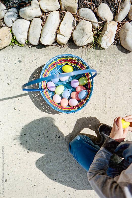 Easter Egg Hunt  by Cameron Whitman for Stocksy United