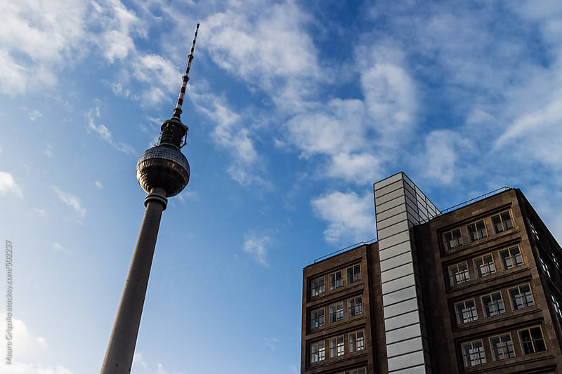 TV Tower in Berlin by Mauro Grigollo for Stocksy United