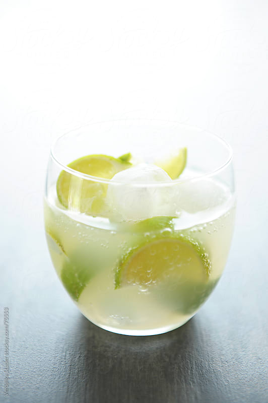 Lime drink by Veronika Studer for Stocksy United