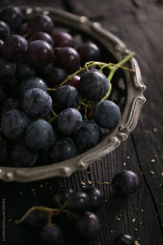 Black Grapes by Lumina for Stocksy United