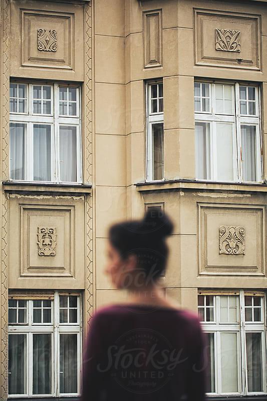 Elegant Woman on the Balcony by Lumina for Stocksy United