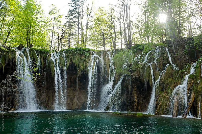 plitvice lakes by Paul Schlemmer for Stocksy United