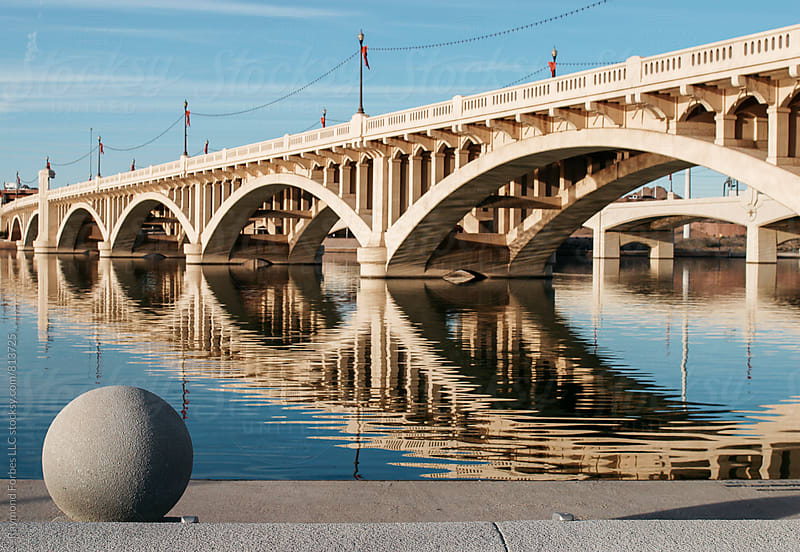 Tempe, Arizona Bridge by Raymond Forbes LLC for Stocksy United