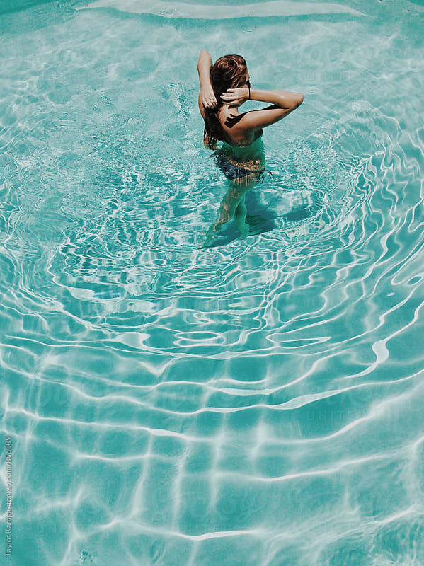 A Quick Dip by Taylor Kampa for Stocksy United