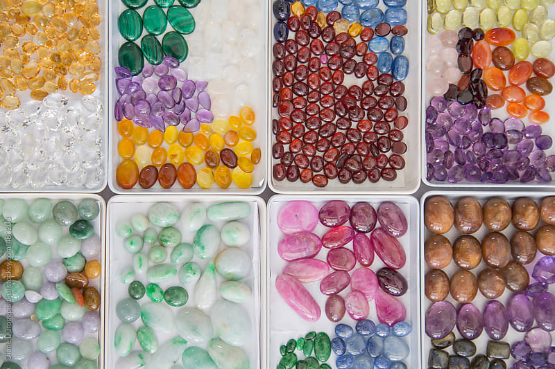 Gemstones for Sale by Diane Durongpisitkul for Stocksy United