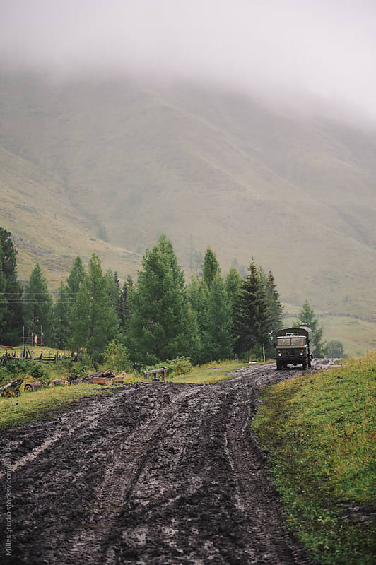 Truck off road by Milles Studio for Stocksy United